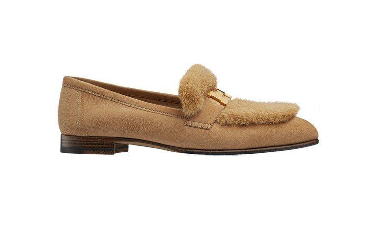 Paris系列莫卡辛鞋,49,900元。圖/愛馬仕提供