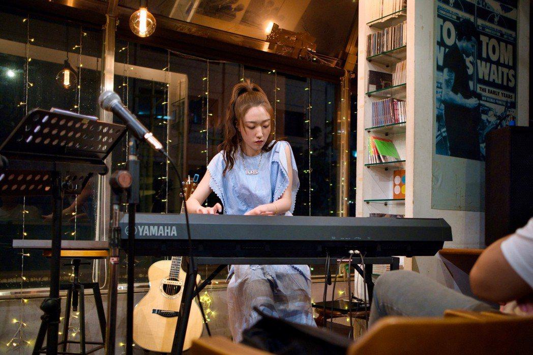 王敏淳在演唱會上展現諸多才華。圖/鮪魚肚影音提供