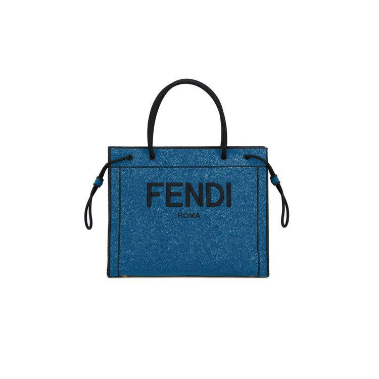 FENDI Roma Shopper購物包,價格店洽。圖/FENDI提供