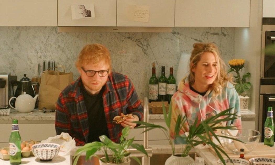 紅髮艾德與妻子雀莉已經為人父母。圖/摘自Instagram