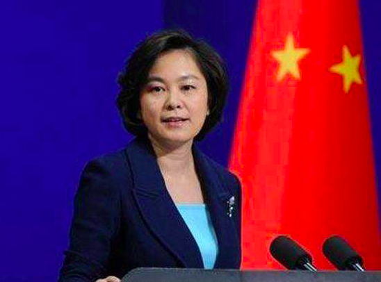 大陸外交部發言人華春瑩稱,印方聲明「不打自招」,印度違反雙方協議協定和重要共識在先。(中新社)