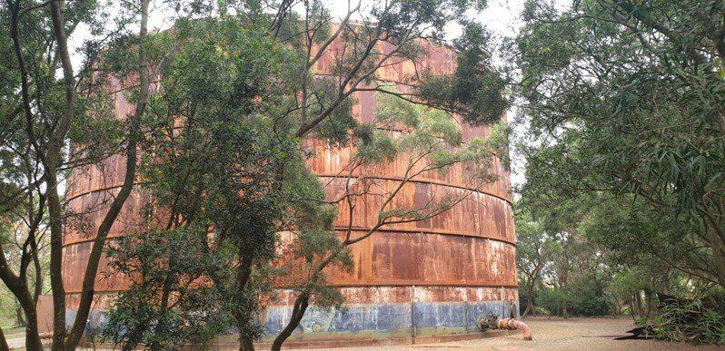 台中歷史建築「大楊油庫」修復工程將開工。記者游振昇/攝影
