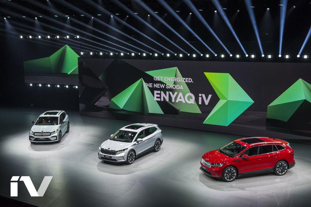 ŠKODA在9月2日發表了品牌第一款純電休旅Enyaq iV。 摘自ŠKODA