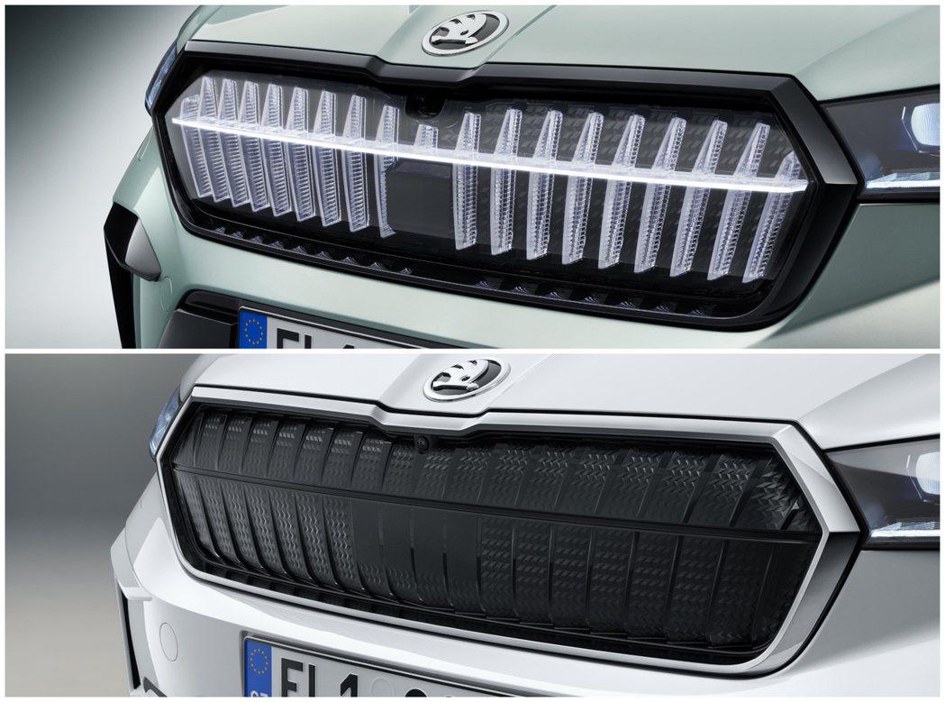 若非搭配Crystal Face水箱護罩,ŠKODA Enyaq iV在一般車型...