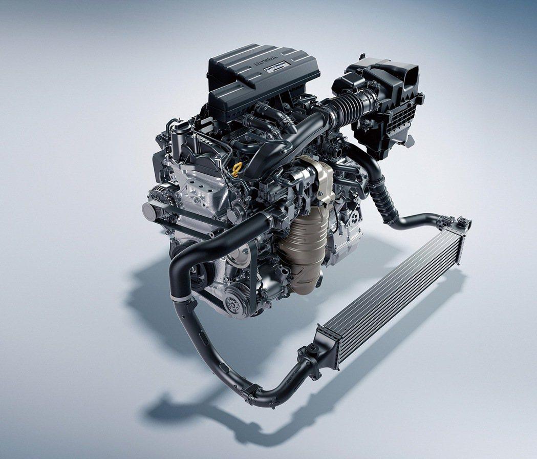 全新CR-V標配Earth Dreams Technology技術群中的1.5L...