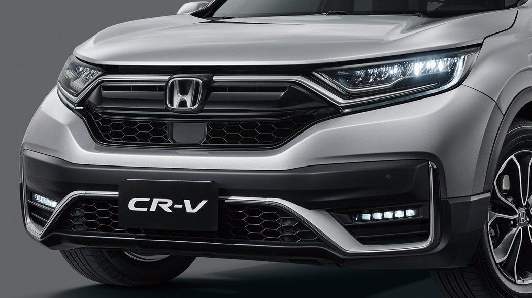 車頭造型更顯霸氣。 圖/Honda Taiwan提供