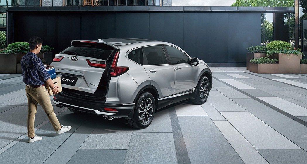 感應式電動尾門對於家庭客層更為便利。 圖/Honda Taiwan提供