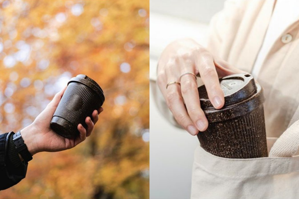 Kaffeeform將咖啡渣製成堅固咖啡杯。 圖/取自Kaffeeform In...