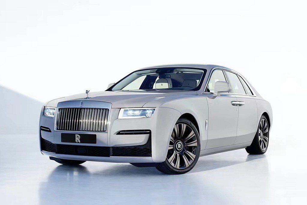 新世代勞斯萊斯Ghost正式發表。 圖/Rolls-Royce提供