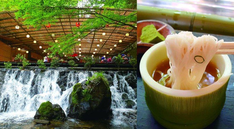 京都夏日限定美食:川床料理與流水素麵  和風拂面涼一下