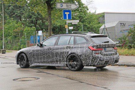 影/全新BMW M3 Touring首度路試曝光 影片竟是自家拍的!