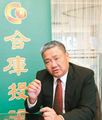 合庫投信董事長林柏裕表示,綠色金融與樂活安養退休是基金商品發展主軸。 合庫投信/...