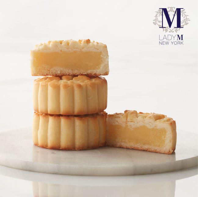 Lady M奔月禮盒奶香滿溢的卡士達奶皇月餅 圖/Talter Taiwan提供