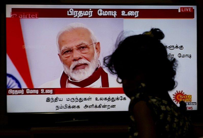 印度總理莫迪(Narendra Modi)。 歐新社