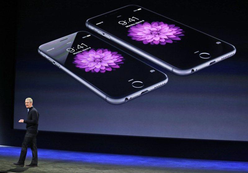 蘋果5G版iPhone進展各界關注。 美聯社