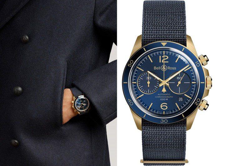 Bell & Ross 2020新品的Vintage系列,以海洋為概念的BR V...