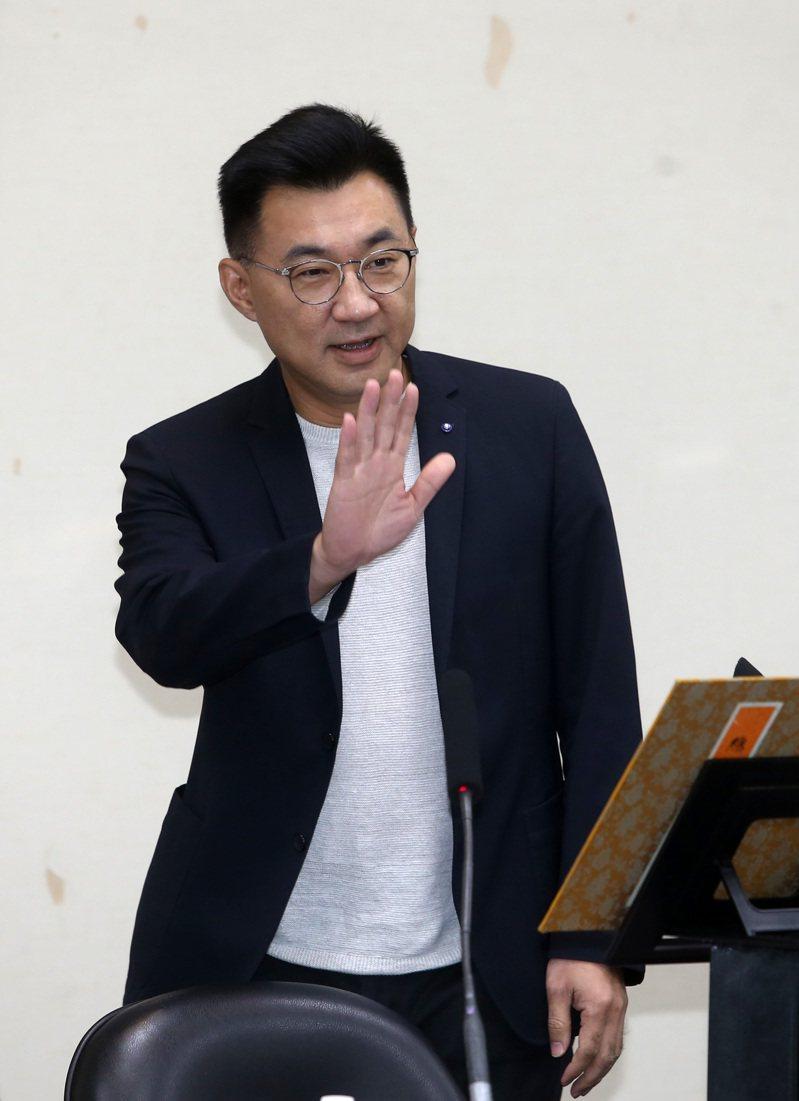 國民黨主席江啟臣。記者曾吉松/攝影
