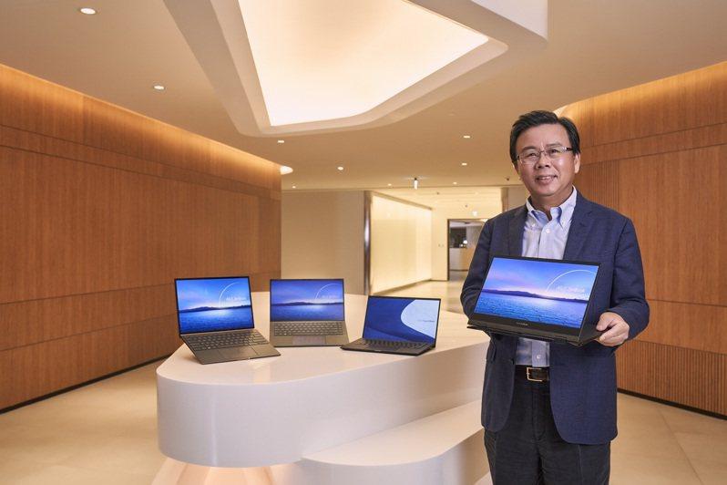 華碩共同執行長胡書賓指出,今年華碩透過最新的螢幕、音訊、軟體及網路連線技術,再度為使用者帶來無與倫比的創新產品。圖/華碩提供