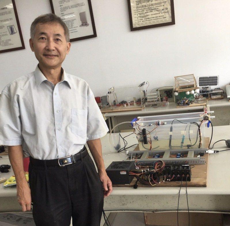 中州科大奪韓發明賽金牌 智慧魚塭物聯網提升養殖技術-中州科技大學