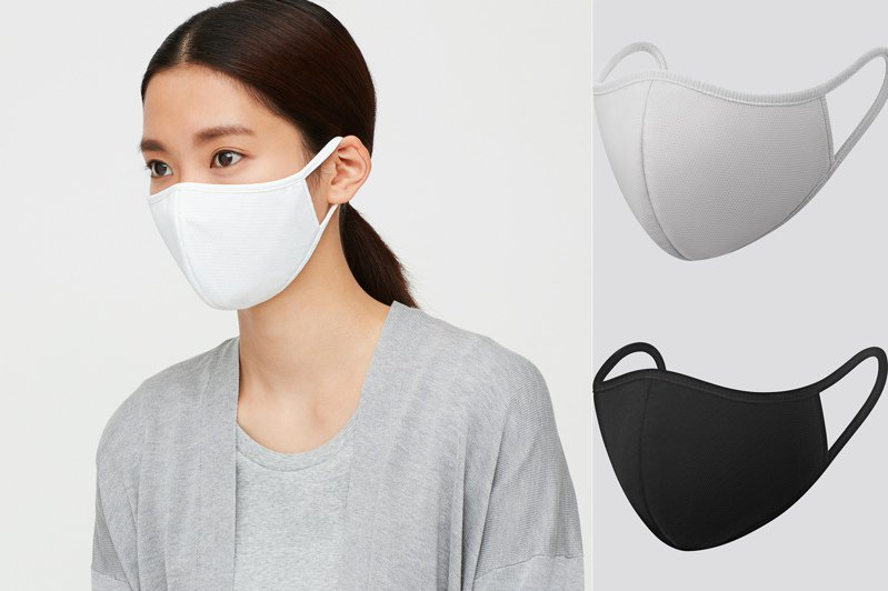 詢問度破表的UNIQLO AIRism口罩在台灣賣時間跟價格都確定了!圖/UNIQLO提供