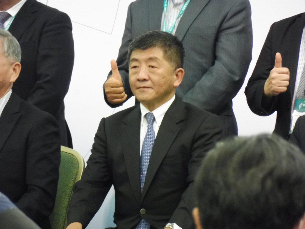 衛福部長陳時中。記者賴于榛/攝影
