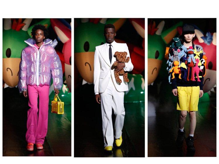 路易威登在東京發表2021春夏男裝。圖/LV提供