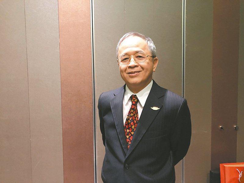 飛捷董事長林大成。 (本報系資料庫)
