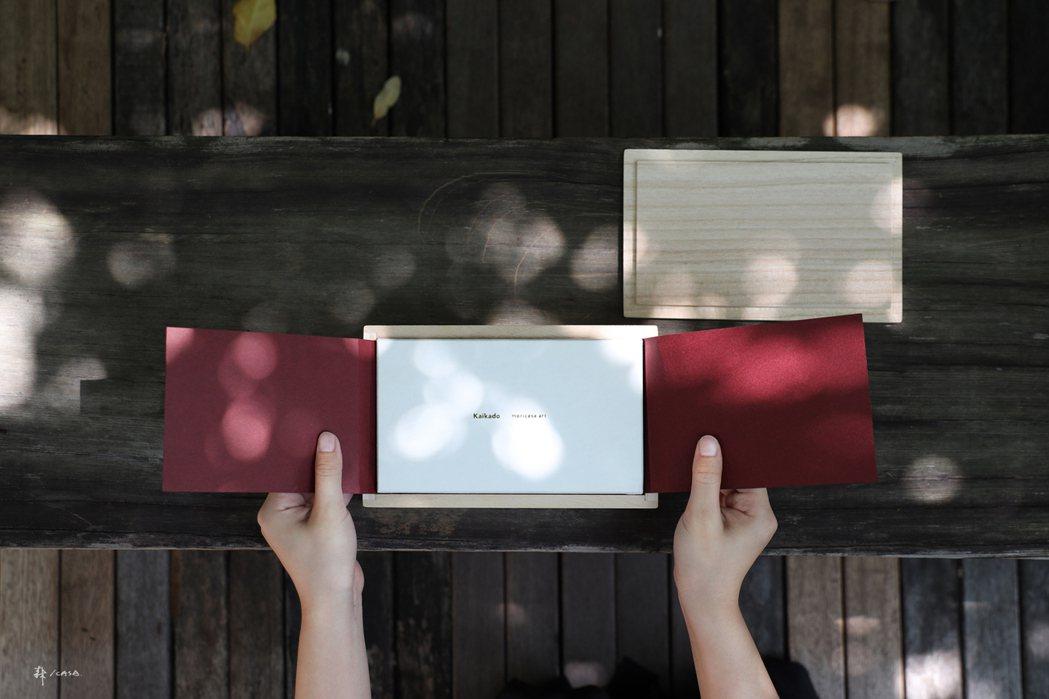 森/CASA桐木木盒。 圖/森/CASA提供