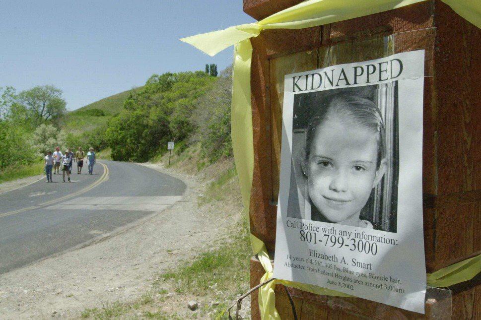 美國女性伊莉莎白.斯馬特於14歲時遭到綁架,被監禁、強暴,9個月後才在離家不遠的地點獲救。 圖/美聯社