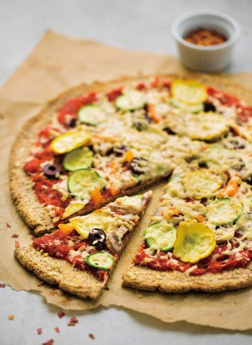 純素披薩。 圖/台灣廣廈提供