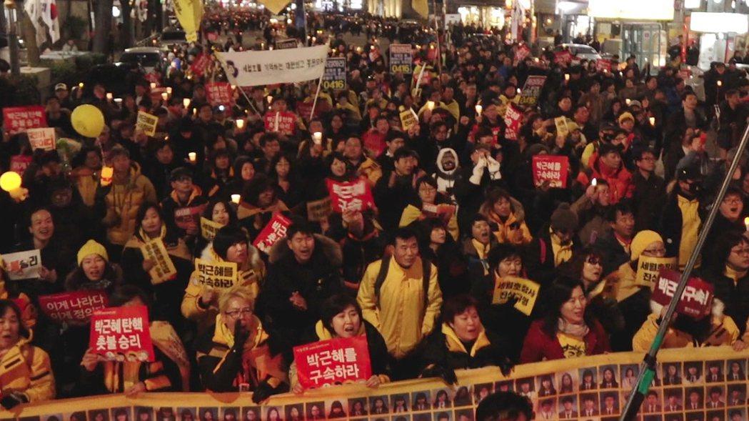 《再見世越號 Yellow Ribbon》劇照。 圖/第二十七屆台灣國際女性影展...