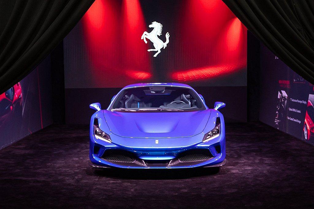 Ferrari最有潛力的中國市場(包含香港、台灣),2020上半年只交付62輛新...