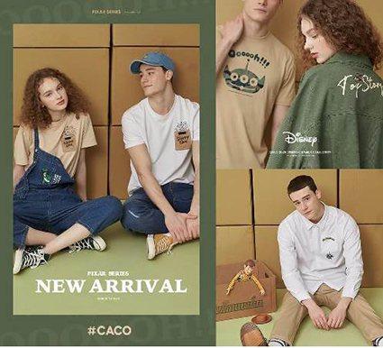 引領潮流又兼具可愛的CACO服飾品牌。 新光三越桃園站前店/提供