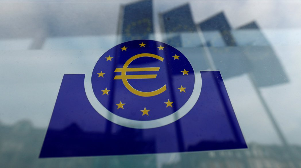 歐元區恐怕再面臨通縮危機,歐洲央行如何接招,全球矚目。圖/路透社