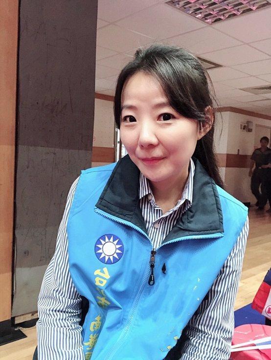 台北市李明賢議員辦公室主任成芓漩。 台灣長照醫學會/提供