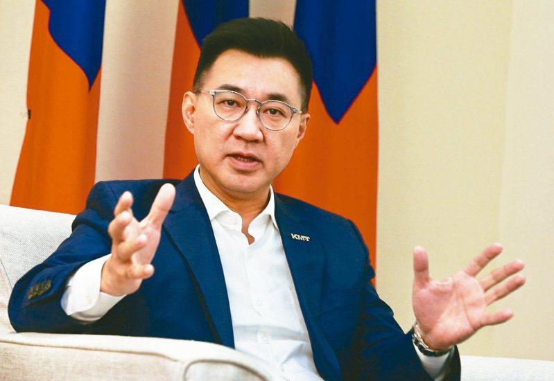國民黨主席江啟臣。圖/聯合報系資料照片