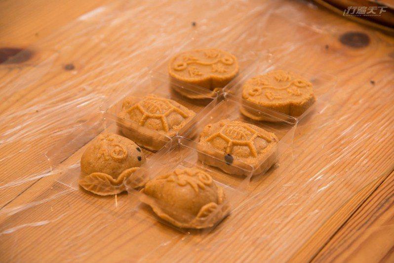 迷你平安龜不只可愛好看,還很好吃。