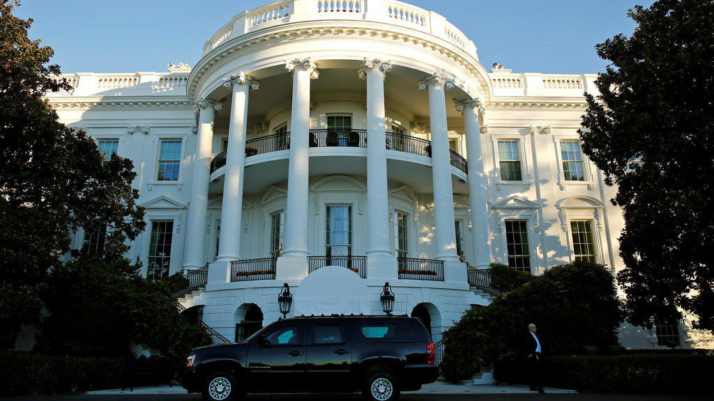 美國白宮。 路透
