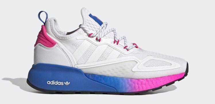 adidas Originals ZX 2K BOOST鞋5,290元。圖/ad...