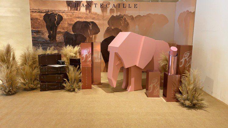 香緹卡打造與愛象隨的非洲旅行提案。圖/香緹卡提供