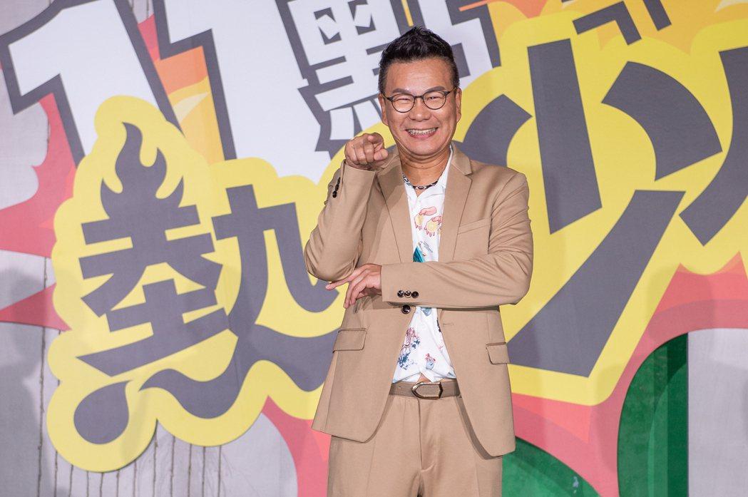 沈玉琳同時擁有7個節目,已是綜藝圈目前最大戶。圖/TVBS提供