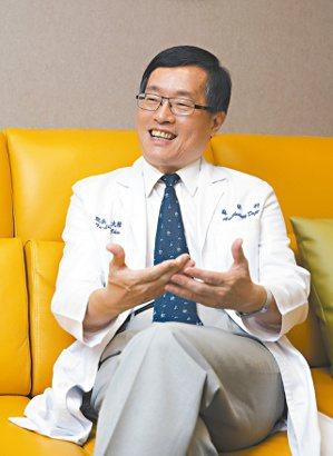 萬芳醫院院長陳大樑。記者鄭超文/攝影