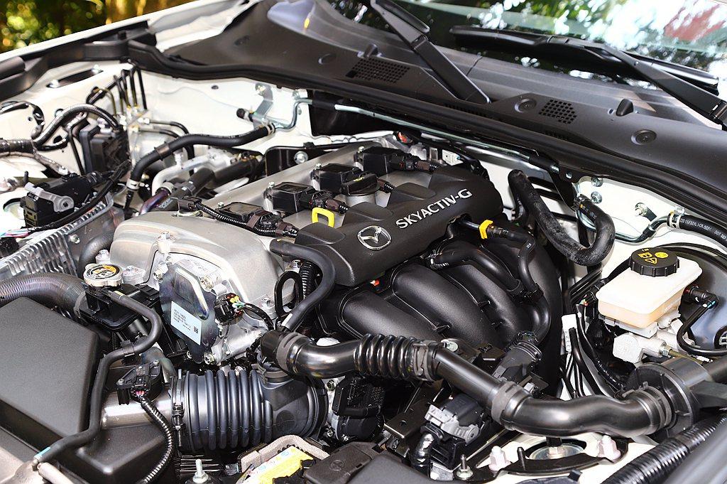 Mazda MX-5 MT 100週年紀念特仕車仍搭載2.0L SKYACTIV...