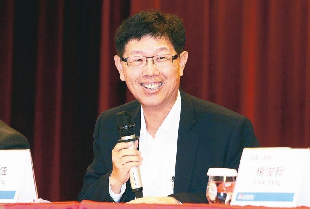 鴻海董事長劉揚偉