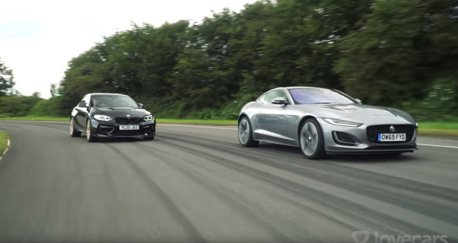 影/BMW M2 CS Vs. Jaguar F-Type!賽道上哪輛比較快?
