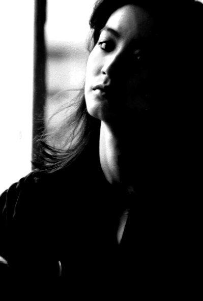 郭英聲80年代初作品,拍攝影星林青霞。圖/郭英聲提供