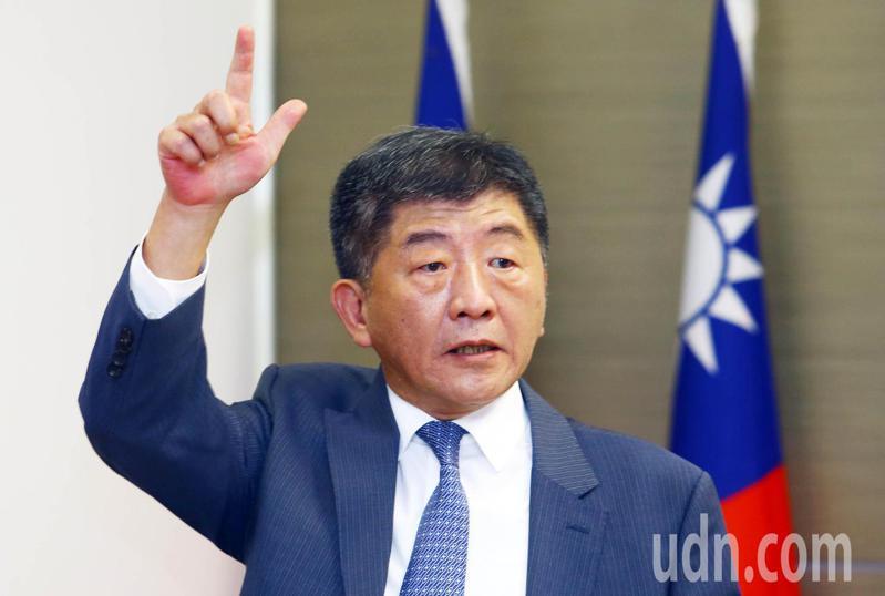 衛福部長陳時中被外界視為參選2022年台北市長的熱門人選。記者杜建重/攝影