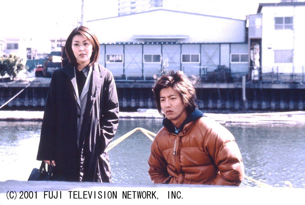 木村拓哉(右)、松隆子在「HERO」中,已是第三度合作。圖/八大電視提供