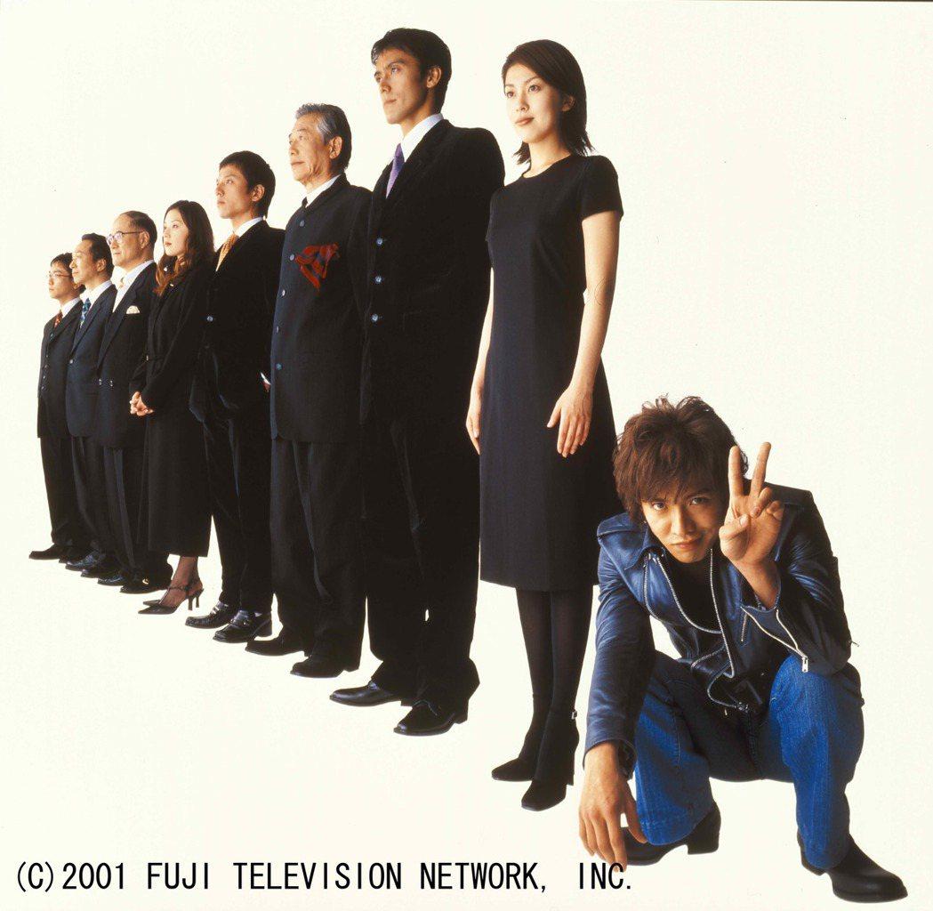 木村拓哉主演經典日劇「HERO」。圖/八大電視提供
