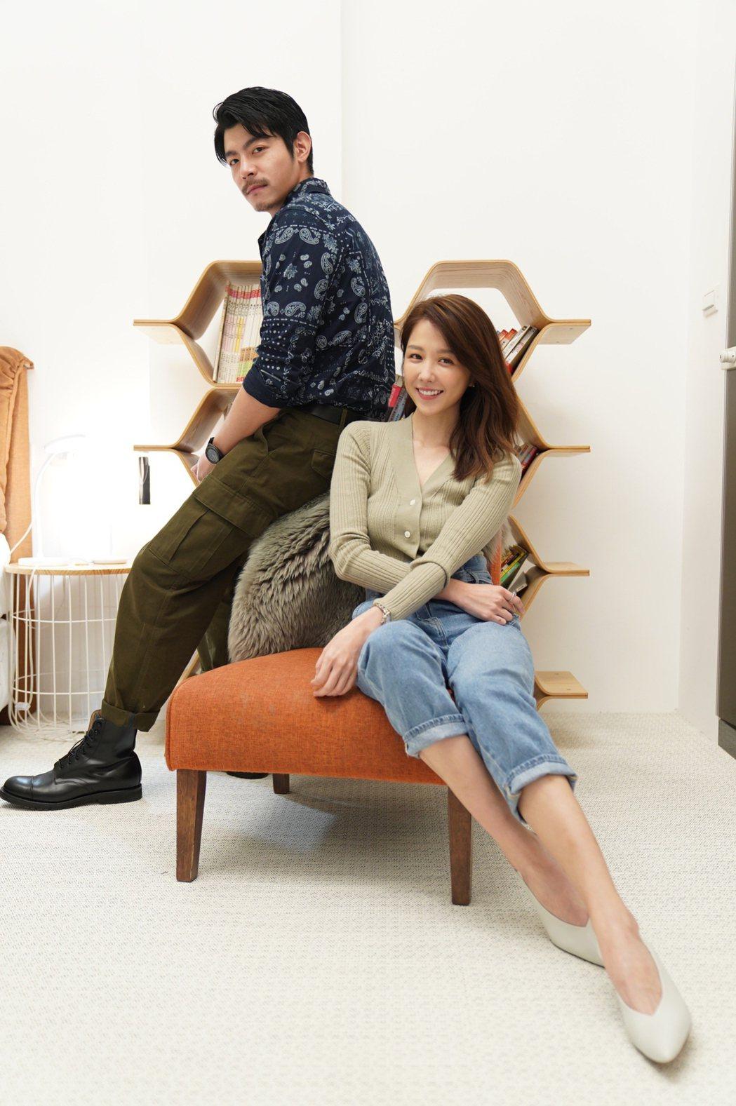 王柏傑(左)、邵雨薇演出「比悲傷更悲傷的故事」影集。圖/滿滿額娛樂提供